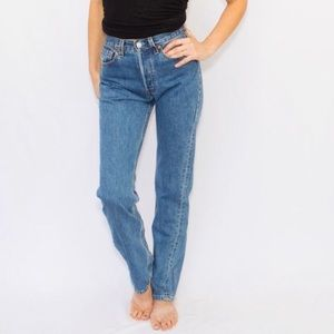VTG Levi 550 Relaxed Fit Taper Leg High Rise Jean